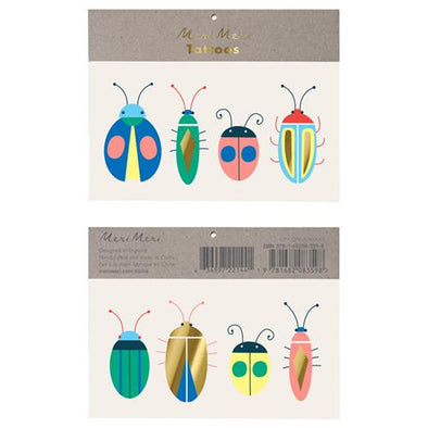 Tattoos - Neon Bugs - Brambler Boutique