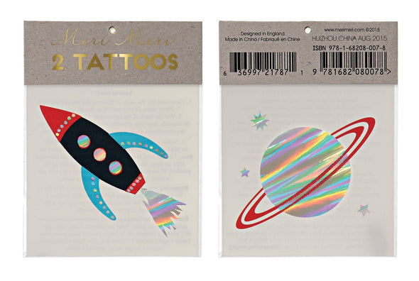 Tattoos - Rocket - Brambler Boutique