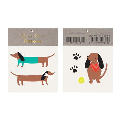 Tattoos - Sausage Dog - Brambler Boutique