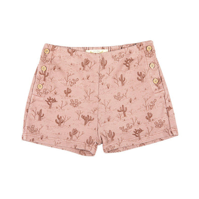 Terry Shorts - Cacti Garden - Brambler Boutique