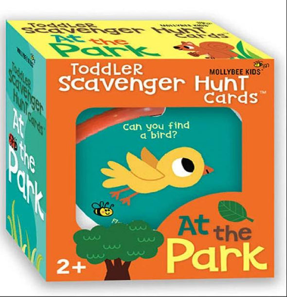 Toddler Scavenger Hunt Cards - At The Park - Brambler Boutique