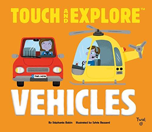 Touch and Explore: Vehicles - Brambler Boutique
