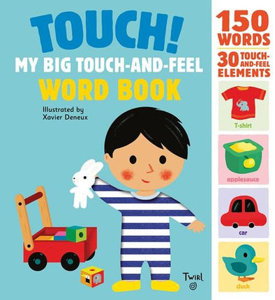 Touch! My Big Touch-and-Feel Word Book - Brambler Boutique
