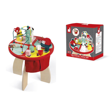 Wooden Activity Table - Baby Forrest - Brambler Boutique