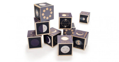 Wooden Blocks - Moon Phase - Brambler Boutique