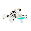 Wubbanub Infant Pacifier- Baby Cow - Brambler Boutique