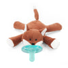 WubbaNub Infant Pacifier - Fox - Brambler Boutique