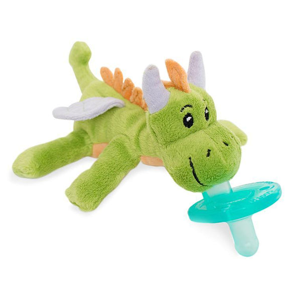 WubbaNub Infant Pacifier - Green Dragon - Brambler Boutique