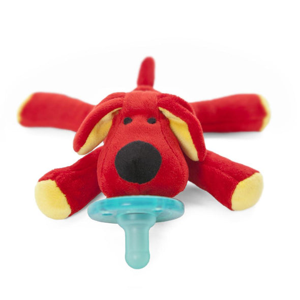 Wubbanub Infant Pacifier- Red Dog - Brambler Boutique