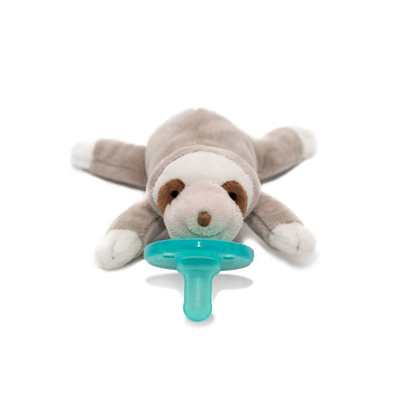 WubbaNub Infant Pacifier - Sloth - Brambler Boutique