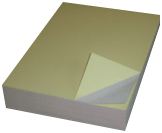 20lb 8.5x11 2-Part Blank Regular Carbonless Paper