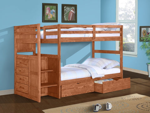 Ranch Stairway Bunkbed