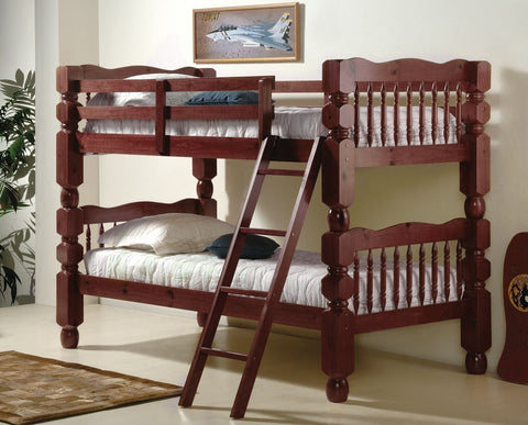 Twin Twin Jumbo Turned Post Bunkbed