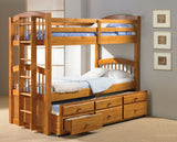 Angelic Captains Trundle Bunkbed