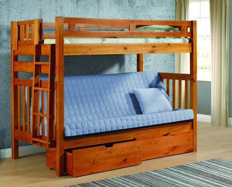 "Tall Mission Bunkbed (67"")"