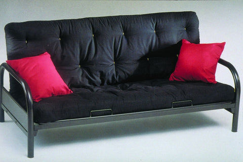 "Metal Futon W/ 8"" Mattress"
