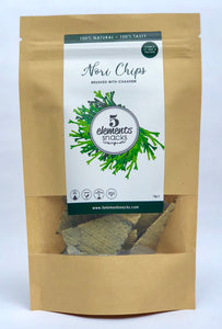 Nori Chips Brushed with Cashew  - A mineral bomb
