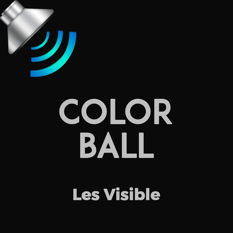 Color Ball by Les Visible