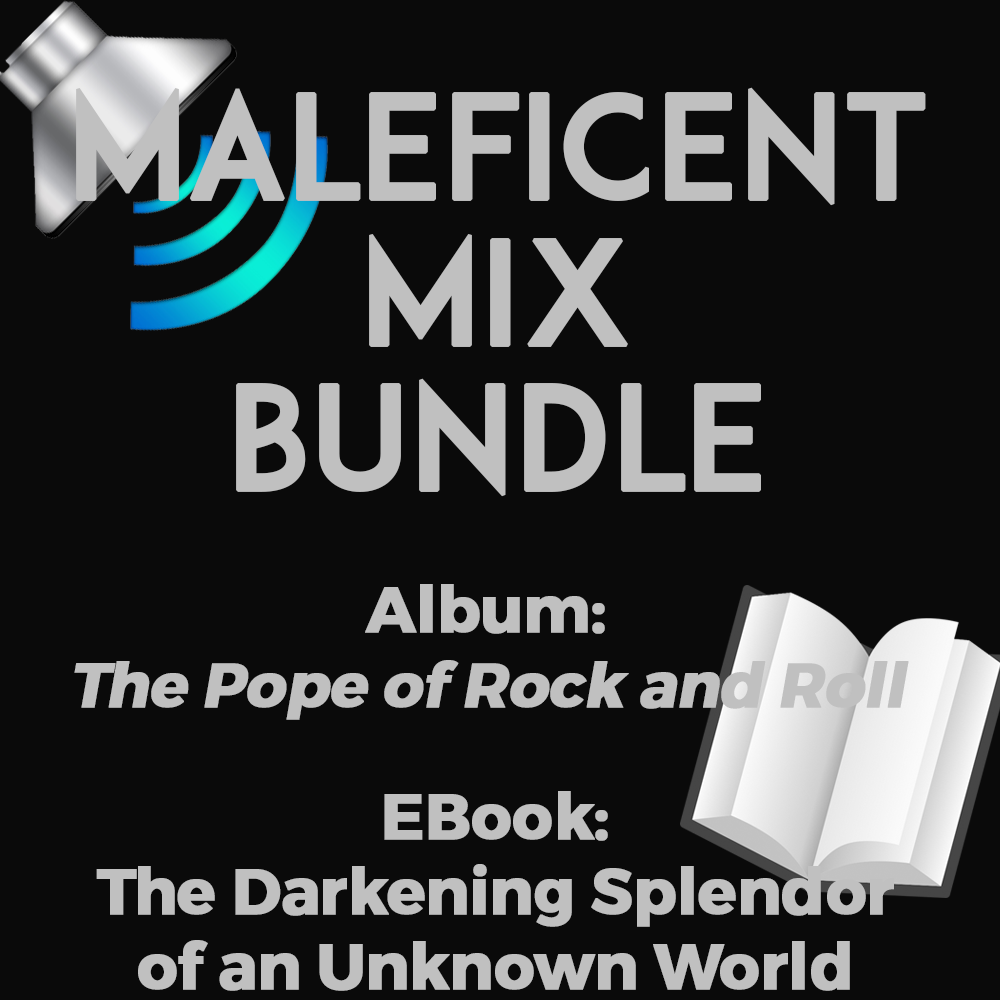 Maleficent Mix Book and Music Bundle