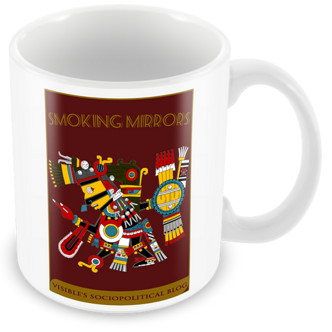 "Les Visible ""Smoking Mirrors"" Mug"