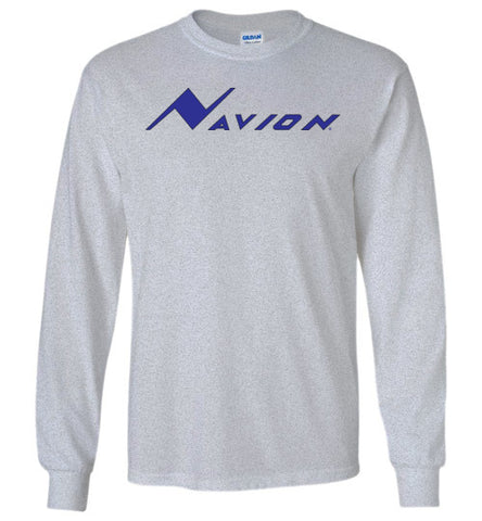 Navion Rangemaster T-Shirt (Long Sleeve) - Blue Logo