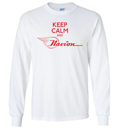 Navion Keep Calm T-Shirt (Long Sleeve)