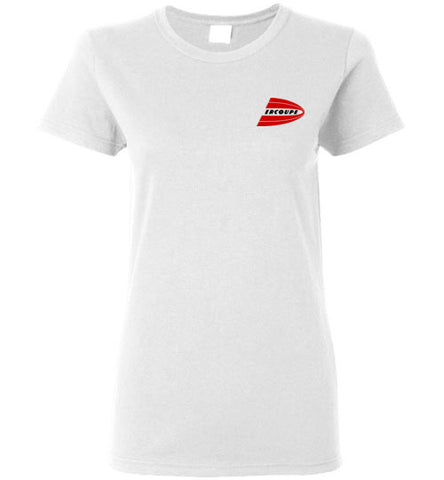 Ercoupe T-Shirt (Short Sleeve) - Small Emblem - Ladies