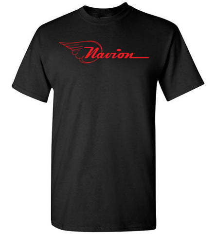 Navion Logo T-Shirt (Short Sleeve) - Red Logo - Tall