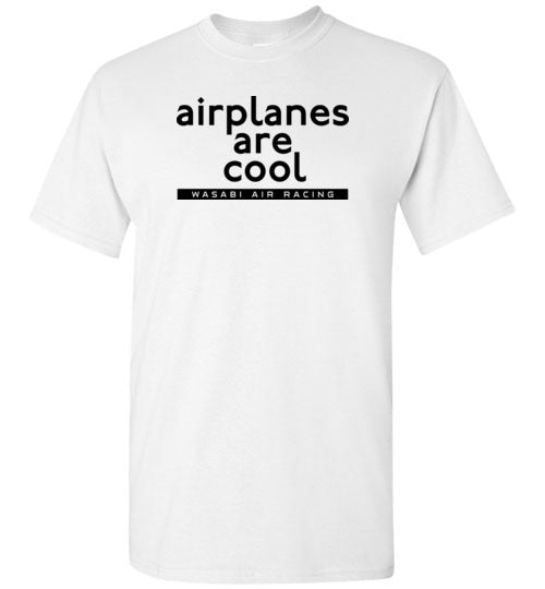 Wasabi Air Racing - Airplanes are Cool T-Shirt (Short Sleeve) - Tall