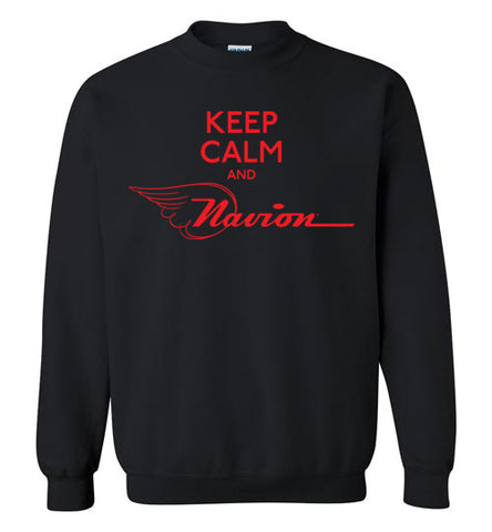Navion Keep Calm Sweatshirt (Crew)