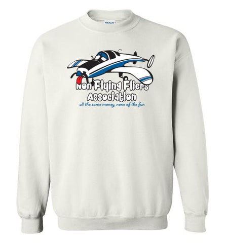 Race 53 Non Flying Fliers Association Sweatshirt (Crew)