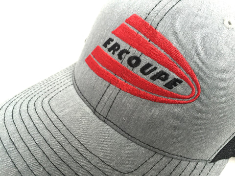 Ercoupe Hat - (Mesh Back) - Embroidered Emblem