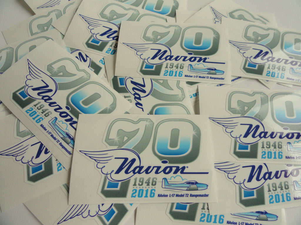 Navion 70th Anniversary Decal