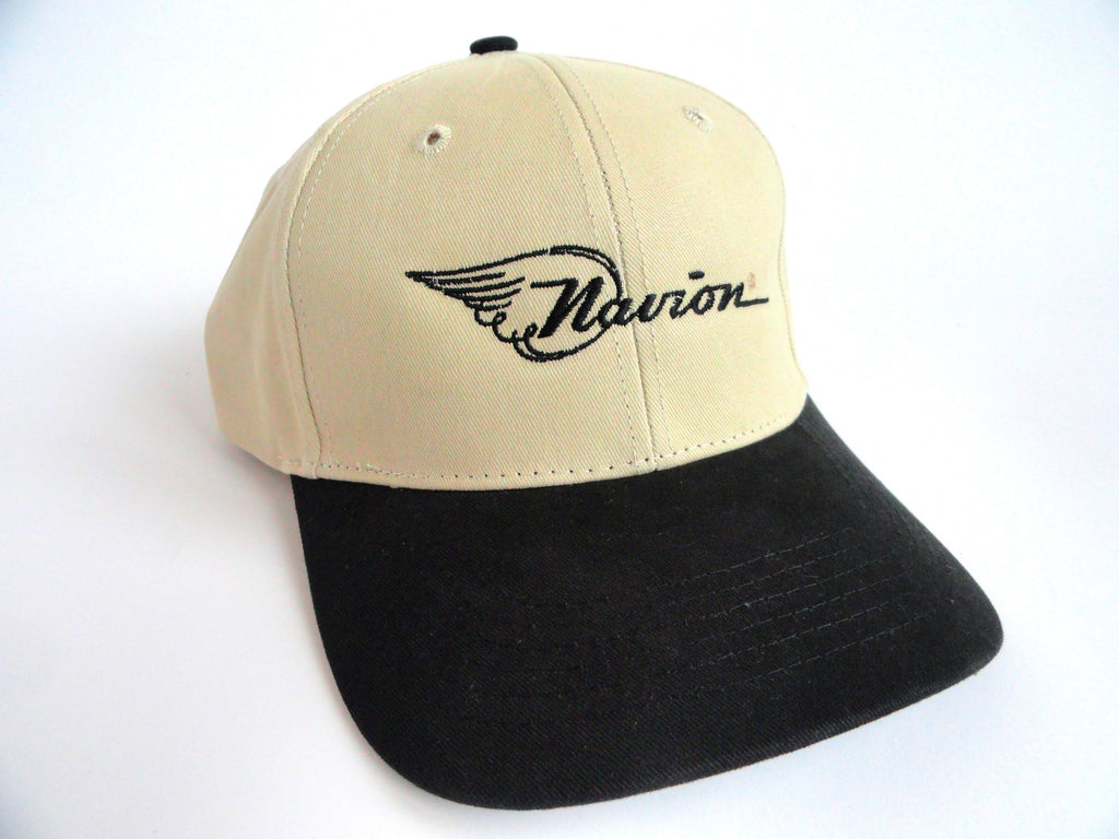 Navion Hat - (Fabric Back) Embroidered - Twill