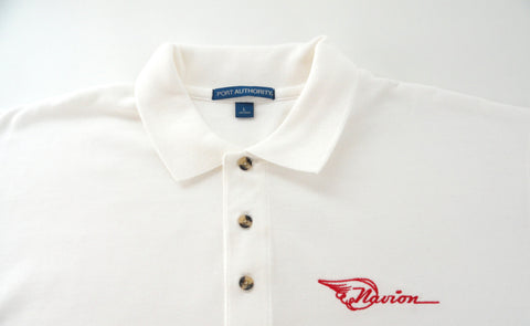Navion Polo Shirt w/Pocket (Short Sleeve) - Embroidered Emblem - Heavier Weight