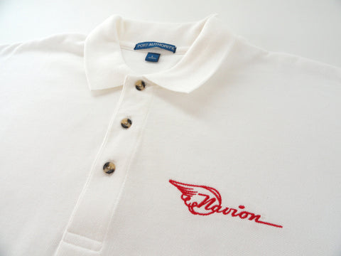 Navion Polo Shirt (Short Sleeve) - Embroidered Emblem - Heavier Weight