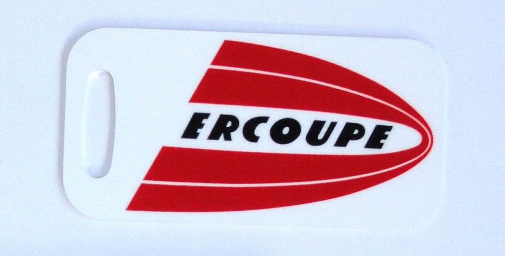 Ercoupe Decorative Bag Tag - Logo