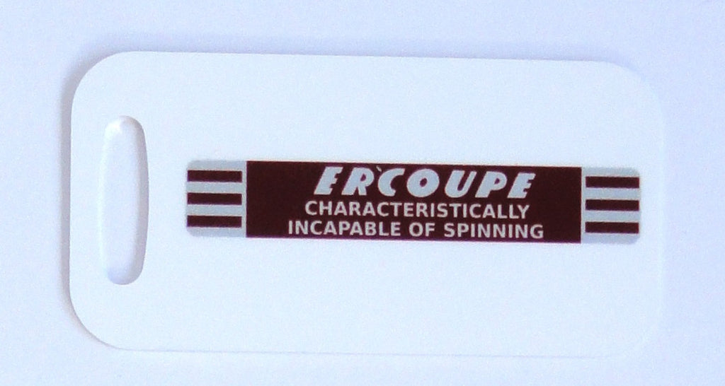 Ercoupe Decorative Bag Tag - Incapable of Spinning