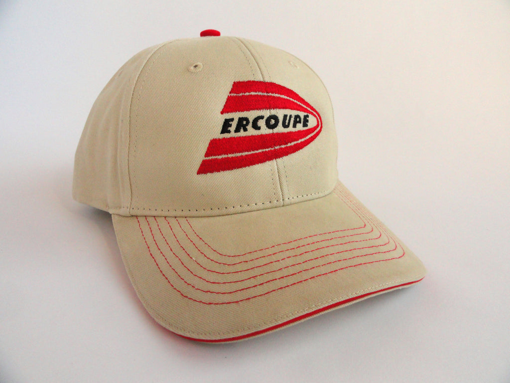 Ercoupe Hat - (Fabric Back) - Embroidered Emblem