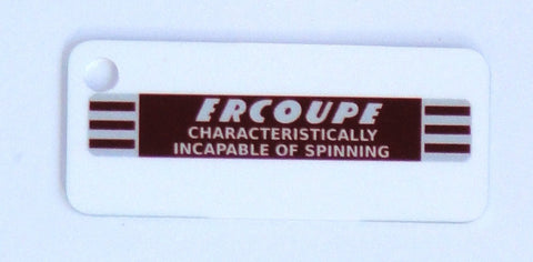 Ercoupe Keychain - Incapable of Spinning