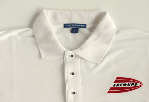 Ercoupe Polo Shirt (Short Sleeve) - Embroidered Emblem - Heavier Weight