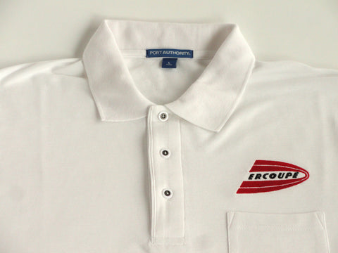 Ercoupe Polo Shirt w/Pocket (Short Sleeve) - Embroidered Emblem