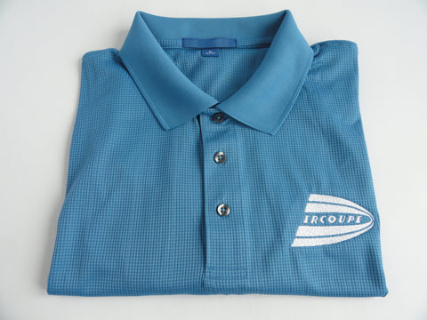 Ercoupe Polo Shirt - Jacquard - (Short Sleeve) - Embroidered Emblem