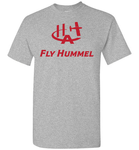 Hummel Aviation T-Shirt (Short Sleeve) - Fly Hummel - Red