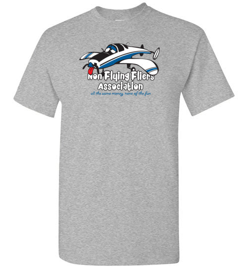Race 53 Non Flying Fliers Association T-Shirt (Short Sleeve)