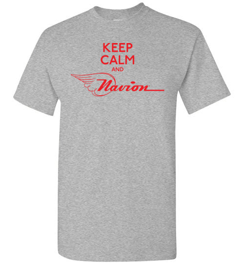 Navion Keep Calm T-Shirt (Short Sleeve)