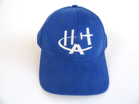 Hummel Aviation Hat - (Fabric Back) Embroidered - Blue