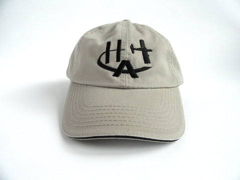 Hummel Aviation Hat - (Low Profile) Embroidered - Tan