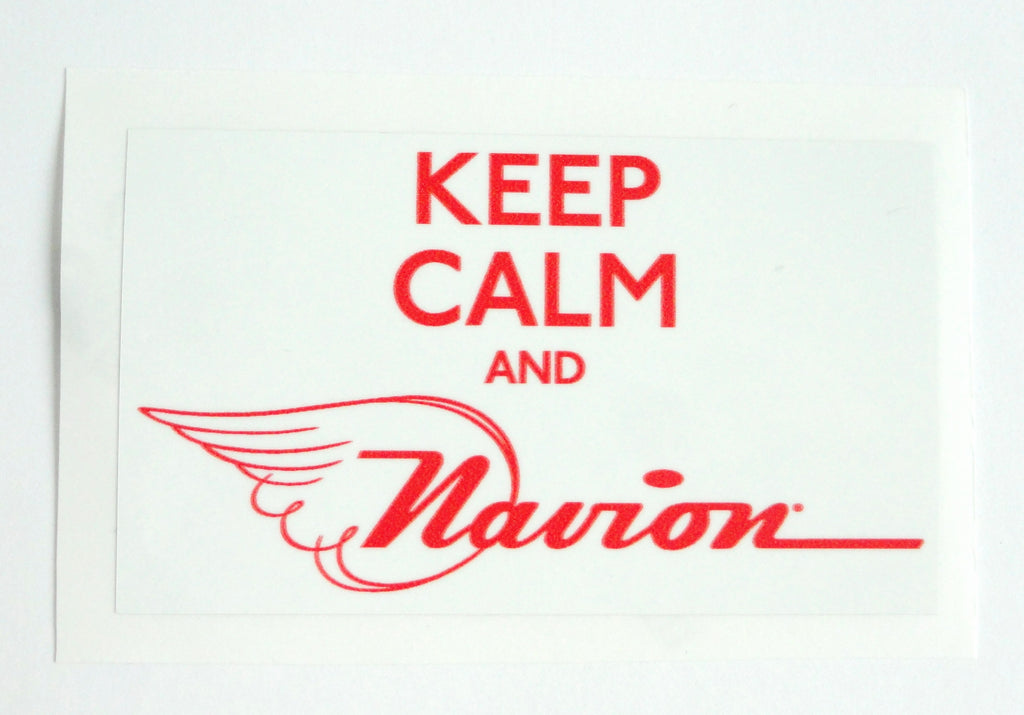 Navion Decal - Keep Calm