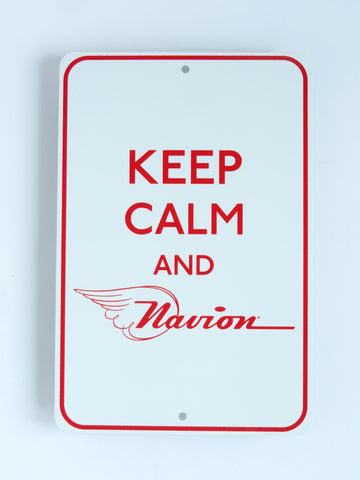Navion Metal Sign - Keep Calm